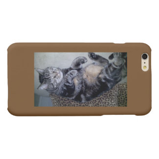 Cat and iPhone lovers rejoice...the perfect case Matte iPhone 6 Plus Case