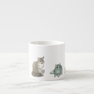Cat and Kitten Selection Espresso Cup