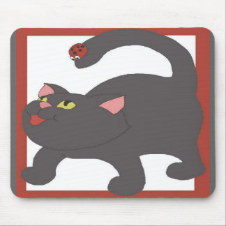 Cat and Ladybug Mousepads