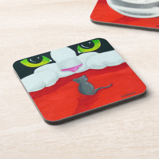 Cat and Mouse Coaster