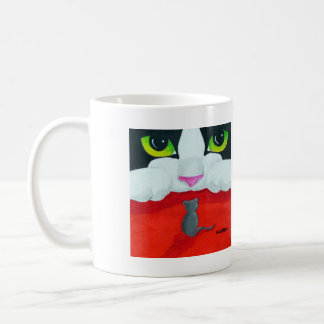 Cat and Mouse Coffee Cup
