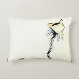 Cat and Mouse Decorative Pillow
