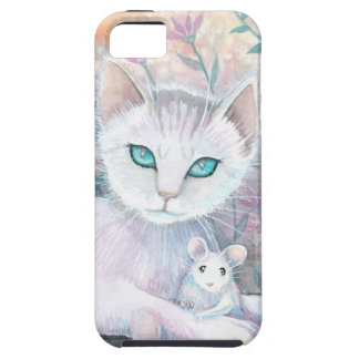 Cat and Mouse Fantasy Art by Molly Harrison iPhone 5 Cases