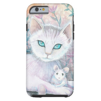 Cat and Mouse Fantasy Art by Molly Harrison iPhone 6 Case