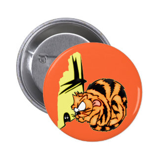 Cat and Mouse Games 2 Inch Round Button