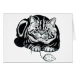 Cat and Mouse Greeting Cards