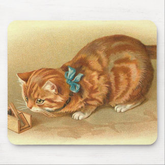 """Cat and Mouse"" Mouse Pad"