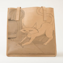 Cat and Mouse Tote