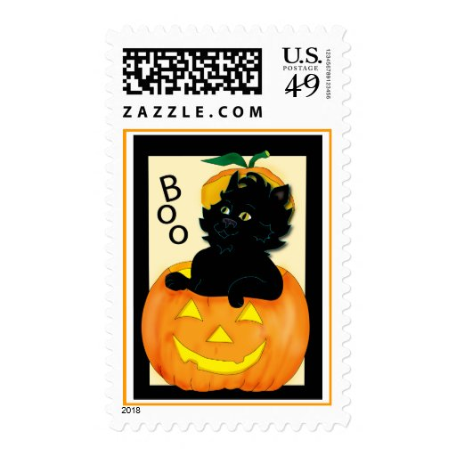 cat-and-pumpkin stamps