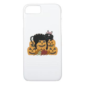Cat and Pumpkins iPhone 8/7 Case