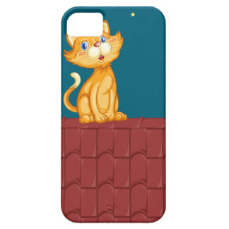Cat and roof iPhone SE/5/5s case