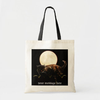 Cat and the Full Moon Bag