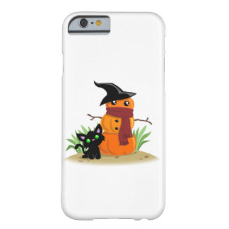 Cat and the Pumpkinman Smart Phone Case