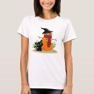 Cat and the Pumpkinman T-Shirt