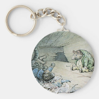 Cat and the Rat Artwork Key Chains