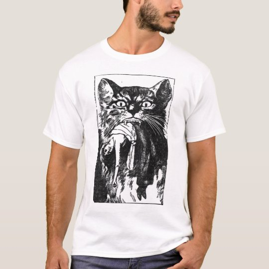 Cat and Woman T-Shirt