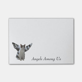 Cat Angels Among Us Post-it® Notes