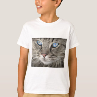 Cat Animal Cat Portrait Cat's Eyes Tiger Cat T-Shirt