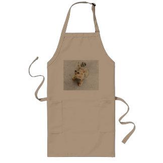 cat long apron