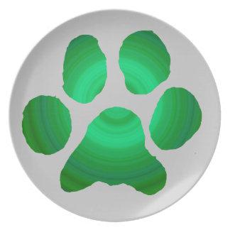 Cat aproved melamine plate
