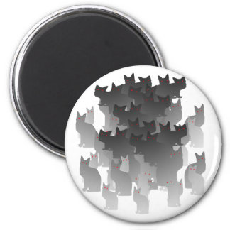 Cat Army Magnet