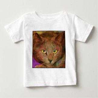 Cat Art Baby T-Shirt