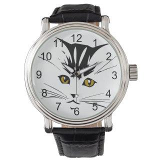 Cat Art Design Wrist Watches