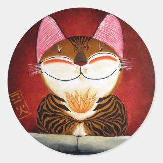 cat art - fire (5 elements) stickers