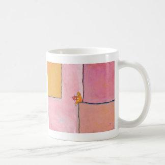 Cat art reading fun - Marmalade Prefers Solitude Coffee Mug