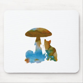 Cat Artwork Mouse Pad