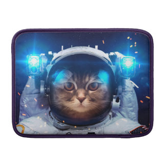 Cat astronaut - cats in space  - cat space MacBook air sleeve