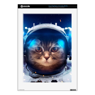 Cat astronaut - cats in space  - cat space skin for the PS3