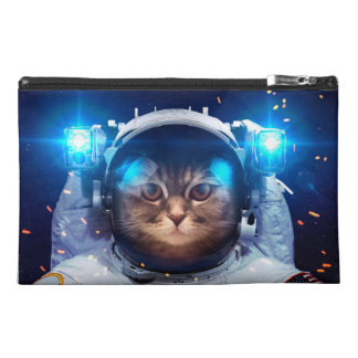 Cat astronaut - cats in space  - cat space travel accessory bag