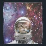 """Cat astronaut - crazy cat - cat bandana<br><div class=""""desc"""">pet , &quot;cute cats&quot; , &quot;tabby cat&quot; , astronaut , &quot;funny cats &quot; , &quot;space cat&quot; , feline , &quot;cats in space&quot; , &quot;pet cat&quot; , &quot;astronaut cat&quot;</div>"""