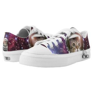 Cat astronaut - crazy cat - cat Low-Top sneakers