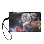 cat astronaut - funny cats - cats in space coin purse