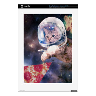 cat astronaut - funny cats - cats in space skin for the PS3 console
