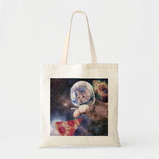 cat astronaut - funny cats - cats in space tote bag