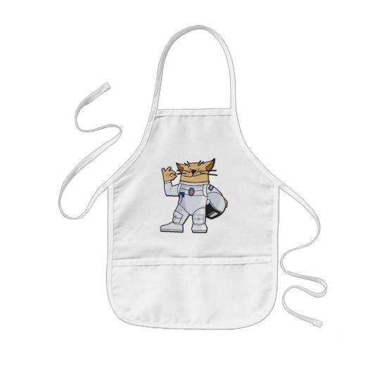 Cat Astronaut Kids' Apron