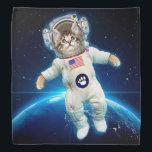 "Cat astronaut - space cat - Cat lover Bandana<br><div class=""desc"">astronaut,  cat space,  cats in space,   kitty,  pussycat,  pet,  kittens,  cute cats,  tabby cat,  funny cats</div>"