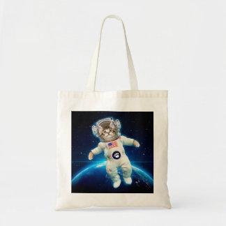 Cat astronaut - space cat - Cat lover Tote Bag