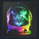 "Cat astronaut - space cat - funny cats bandana<br><div class=""desc"">astronaut, &quot;cats in space&quot;,   kitty,  pussycat,  pet,  kittens,  &quot;cute cats&quot;,  &quot;tabby cat&quot;, &quot;rainbow cat&quot;, &quot;colorful cats &quot;</div>"