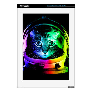 Cat astronaut - space cat - funny cats decal for PS3 console