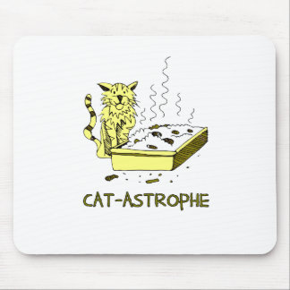 Cat-astrophe Mouse Pad