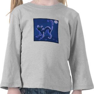 Cat At Night Shirt