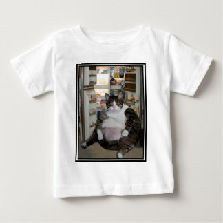 CAT AT THE FRIDGE BABY T-Shirt