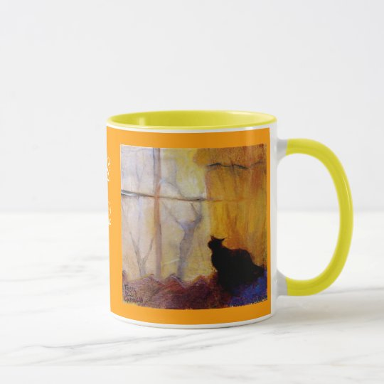 Cat at the Window Cup