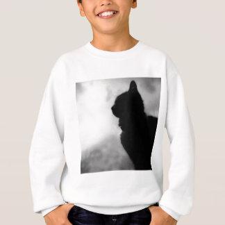 Cat ate Night Feline Animal cap Cat Puss Pussy Sweatshirt