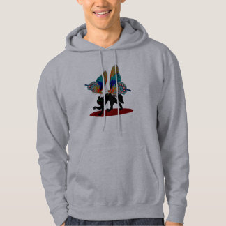 Cat  Attacked Hoodie