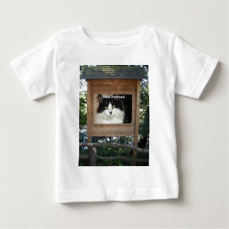 Cat Attitude Baby T-Shirt